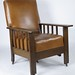 153. Mission Oak Reclining Chair