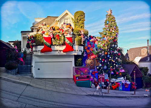 sf sanfrancisco christmas decorations house tree church tom lights dolls jerry decoration castro presents mission dolores noe sanches doloresheights
