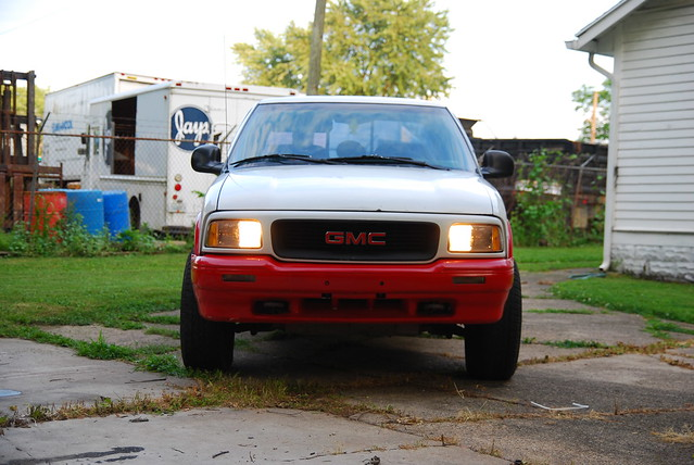 4x4 cab sonoma 1995 extended gmc