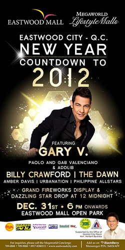 Eastwood New Year Countdown 2012