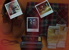 trustinyou (explore) (bellejune) Tags: camera red tree film kitchen yellow vintage polaroid image boots little phonebooth memories lightleak button flannel laces handwarmers theather littlethings happythings ihatetoday bellejune skinsukisaddictive iloveskins