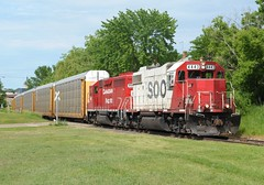 Over Tuscarora Ave (wc_sd45_7500) Tags: plant ford saint paul ranger cities twin line soo assembly gp382