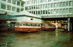 Anderston Bus Station, Glasgow (miledorcha) Tags: bus buses glasgow transport central scottish leopard alexander smt busstation sbg argylestreet leyland interchange psv pcv terminus anderston ytype t334 egb66t anderstoncross