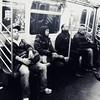 Life On The D Train (Joel Levin Photography) Tags: street nyc newyorkcity urban blackandwhite bw usa newyork subway square manhattan candid streetphotography squareformat allrightsreserved newyorklife iphone mobilephotography thedefiningtouch iphoneography deftouch editedanduploadedoniphone ©joellevin