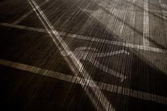 Walk this way (@andymatthews) Tags: cambridge shadow texture andy concrete person photography grey floor carpark matthews linepainting grandarcade ©andymatthews fujifilmx100