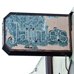 Jaime's (Jeremy Brooks) Tags: california usa bar vintage neon salinas montereycounty martiniglass cocktailglass