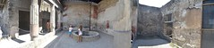 Pompeii Archaeological Space: Ancient House with Modern Visitors Panorama (SpirosK photography) Tags: italy panorama house heritage children ancient italia stitch roman interior tourists pompeii visitors pompei ancientroman    microsoftice archeologicalspace archaeologicalspace