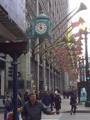 State Street Macy's (artistmac) Tags: christmas new eve decorations chicago store illinois state room walnut marshall il departmentstore newyearseve fields macys trumpets decor department marshallfields randolph 2011