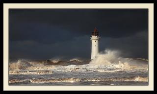 Angry sea at New Brighton. 1