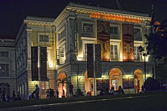 Asian Civilisations Museum (chooyutshing) Tags: celebration entertainment lightup empressplace asiancivilisationsmuseum singaporecountdown 20112010