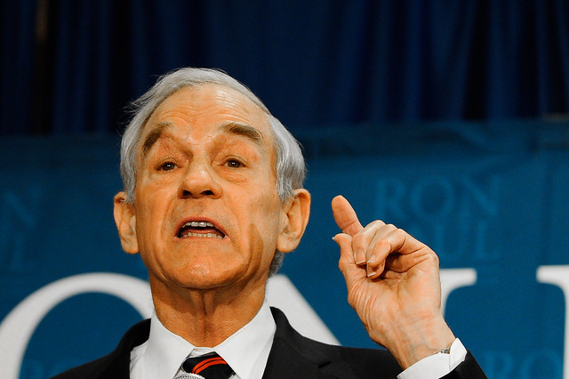Ron Paul Speaking