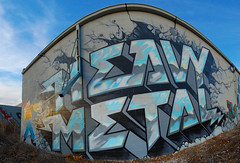 HM (Narco Polo) Tags: minnesota metal graffiti heavymetal crew hm heavy