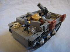 Universal Carrier (Finished!) (424) Tags: world 2 war gun wwii machine flame mortar ii ww2 vehicle british universal fighting armored carrier troop bren vickers personnel thrower allied
