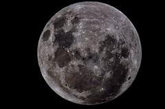Luna llena /Full moon (Asetah) Tags: moon nikon luna celestron c6 d5100