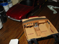 Monogram 1/24 Pontiac Fiero interior (wbaiv) Tags: blue building scale water airplane for model sand paint acrylic cut parts label glue details small tube models cement smooth file carve plastic replica tape polly assemble kits kit build liquid decals lightly acryl gentle based testors subtle nontoxic waterbased mymodels modelsibuild