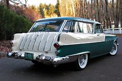 1955 Pontiac Safari Wagon (Park Place LTD) Tags: auto car washington classiccar automobile luxury bellevue dealer autodealer parkplace pontiacsafari bellevuewashington luxuryautomobile safariwagon 1955pontiac 1955pontiacsafari parkplaceltd