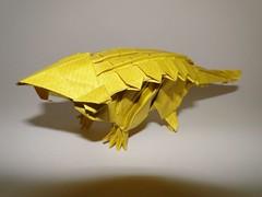 Ankylosaurus (Sylenomelori) Tags: origami fantasy ankylosaurus kawahata fumiaki