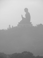 Buddha in the Mist (Carolinadoug) Tags: china hongkong buddha budda lantau