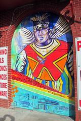 Miami - Omni: Kyle Holbrook Streetart (wallyg) Tags: streetart graffiti mural florida miami omni artopia downtownmiami miamidadecounty kyleholbrook mediaandentertainmentdistrict artopiaartcenter