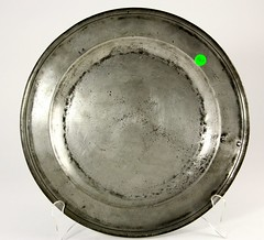 94. Large Antique Pewter Plate