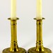 118. 19th Century Shaft Candlesticks