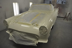 """1957 Ford Thunderbird E Code Dual Quad 312 • <a style=""""font-size:0.8em;"""" href=""""http://www.flickr.com/photos/85572005@N00/6703465019/"""" target=""""_blank"""">View on Flickr</a>"""