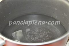 salsiccia in umido con polenta allo zafferano