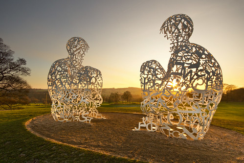 Yorkshire Sculpture park - Jaume Plensa