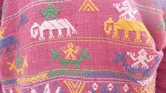 Arunachali (Sirensongs) Tags: pink india costume weaving arunachal bihar bodhgaya sirensongs monpa