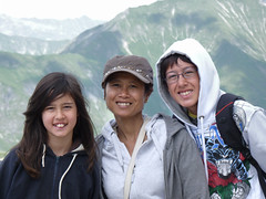 Samantha, Kanitha and BieJee on the Hintertux Glacier (Bn) Tags: world travel family winter summer vacation people mountain 3 snow ski alps ice nature water way geotagged austria oostenrijk waterfall back chair melting all skiing iii year transport large down tourist panoramic best resort glacier alpine round gondola hiker alive carver peaks visitors heights gletscher snowboarder sunbather wal feelings zillertal austrian hintertux highest slopes indescribable spectacle lifts schwaz 3250m kier kabelbaan tuxertal arouse thriling hintertuxer gletscherbus gefrorenewandspitzen gefrorene 10660ft geo:lon=11664884 geo:lat=47061951
