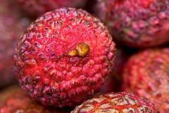 Food textures (Deb Jones1) Tags: red summer food fruit canon 1 jones eating australia tropical deb lychee flickrduel