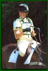 Pippa Funnell Bramham Horse trials 2000 (robin denton) Tags: horse lemon whip pippa equestrian eventing bramham horsetrials horsewhip 3dayevent pippafunnell pippanolan