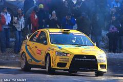 Rallye de Monte Carlo 2012-23.jpg (Maxime Malet) Tags: canon montecarlo 29 evox lancer mitsubishi es2 rallye ardèche saintmartial 550d 80e burzet laurentnicolas patricemallet