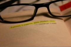 to kill a mockingbird... (Izzy Howe) Tags: children glasses lawyers tokillamockingbird charleslamb
