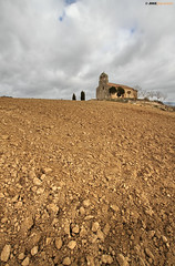 Romnico en la Comarca del Ebro (Burgos) (Josepargil) Tags: rboles cielo burgos ermita tierra romnico espadaa terrones santagadeadelcid josepargil nuestraseoradelaseras comarcadelebro