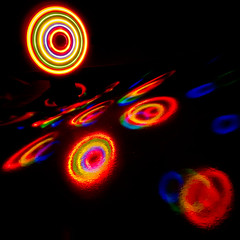 Wheel - LR3-1241550-web (David Norfolk) Tags: lights olympus ep3 17mmpancake interferencecard