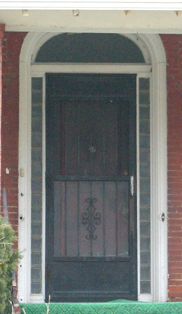 Doorway, Italianate style house