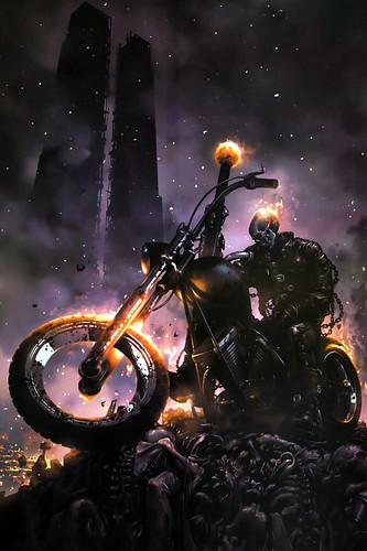 Ghost Rider (lock screen)