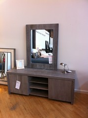 Zuma Media Credenza w/ Zuma Wall Mirror