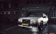 Volvo 'Brøkstål' 740.. (Luuk van Kaathoven) Tags: sedan grey volvo van 740 luuk luukvankaathovennl kaathoven brøkstål
