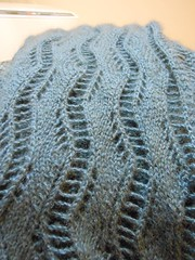 DSCN0317 (Malroy) Tags: knitting yarn knitty quiviut awesomesauce windyvalleymuskox laceribbonscarf quiviuk