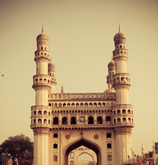 @Charminar, Hyderabad (Pattugrapher) Tags: pigeons retro hyderabad charminar andhrapradesh meccamasjid