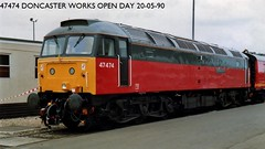 47474 (JOHN BRACE) Tags: electric this diesel 4 hill loco brush numbers co type works sir has doncaster carried rowland 47474 d1602