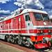 Russian EP200 Passenger Electric Locomotive. Российский электровоз ЭП200.