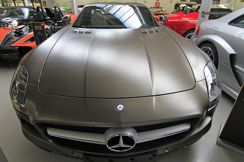Mercedes SLS AMG (2010) | Design Verner Panton | powered by tagwerc