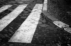 Chasing Pavements (Irene Stylianou) Tags: street urban italy rome roma film analog 35mm nikon europa europe italia song streetphotography xp2 nikonfm10 ilfordxp2super nikkor ilfordxp2 adele ilford analogphotography zebracrossing lazio 400asa 400iso pedestriancrossing songlyrics filmphotography blackandwhitefilm nikkor3570mm ilfordfilm nikkor3570mmf3548 chasingpavements adelelyrics irenestylianou