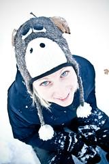 Renna (dilestar) Tags: friends portrait people white snow cold gelo girl smile face digital canon fun eos 350d outdoor freezing persone neve sorriso 20mm federica amici bianco ritratto freddo viso ragazza divertimento
