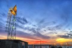 Thingy-ma-jig sunset (frattonparker) Tags: sunset sea sky clouds nikon waves zoom solent nikkor vr southamptonwater 18200mm d40x nikefexpro sunsetsandsunrisesgold btonner frattonparker