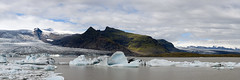 Day06  Fjallsrln  02 (gerald tournier) Tags: panorama island iceland glacier iceberg islande stitchedpanorama fjallsrln