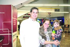 Carlos Garcia, Claudia de Garcia y Carlitos Garia